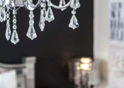 Bedroom Decor Black Chandelier