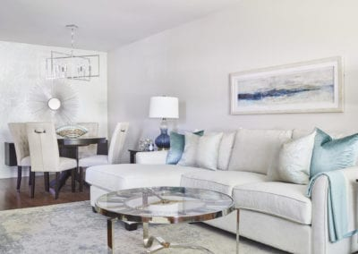 Interior designer for living room and dining room in Tottenham, Beeton, Alliston, and Barrie