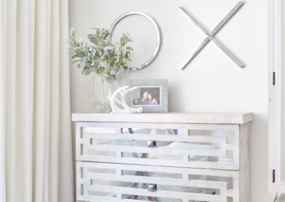 Furniture, storage, wall decor and vignette selected by Pamela Lynn Interior Design in Bolton, Caledon and New TecumsethAlliston, Barrie, Schomberg, Kleingburg, and Vaughan