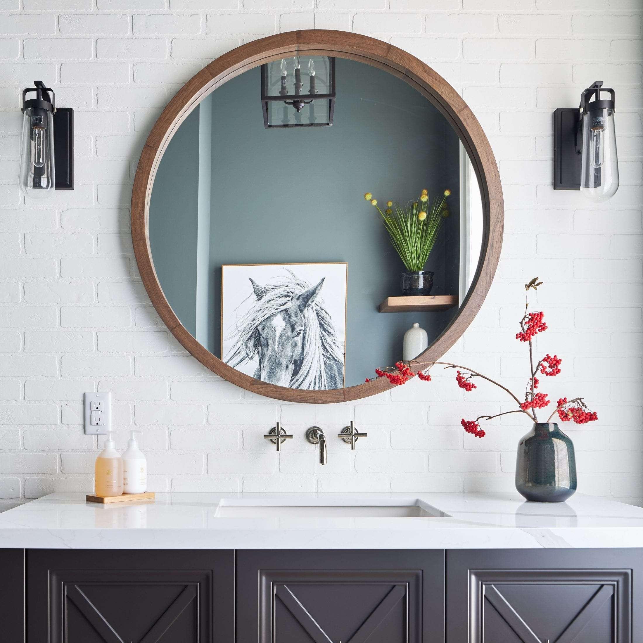Luxury Powder Room Design Custom Home Pamela Lynn Interiors