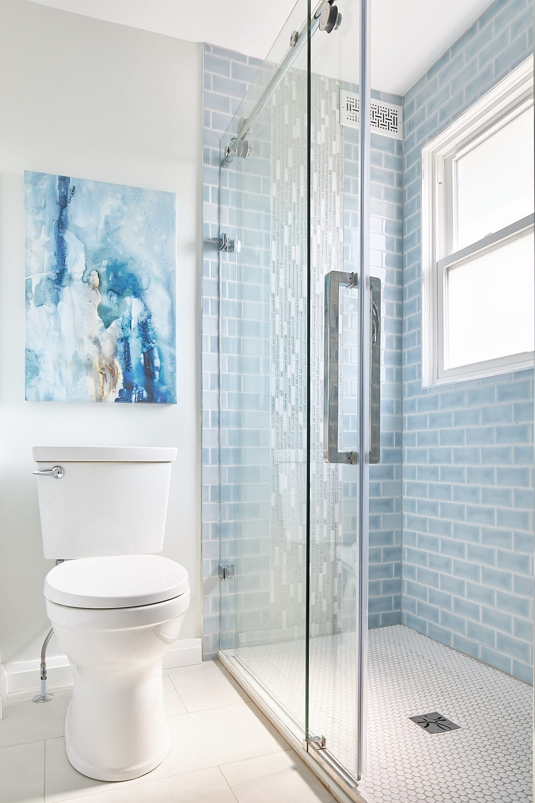 Bathroom designed by Pamela Lynn Interiors