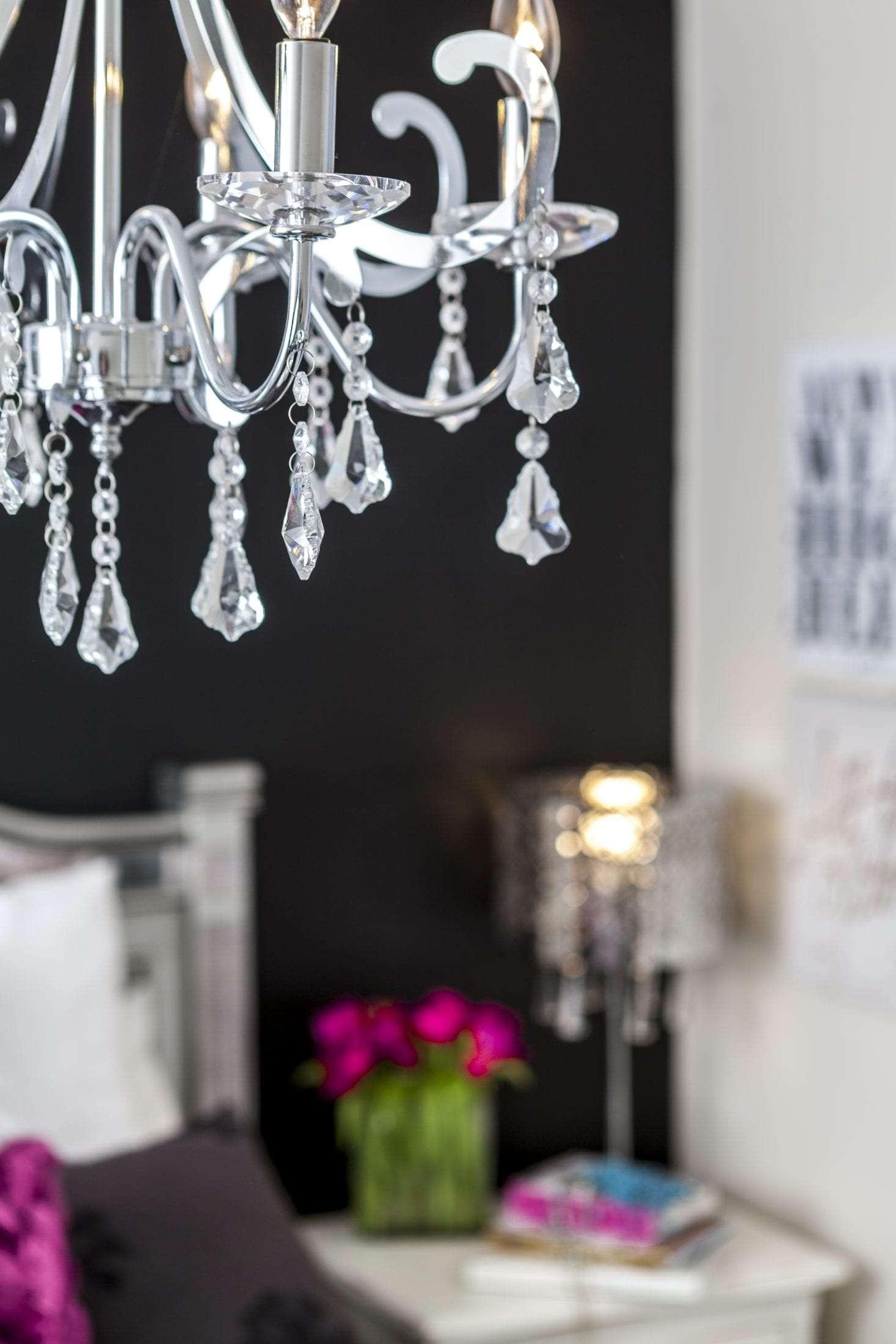 Teen girls bedroom design pamela Lynn Interiors