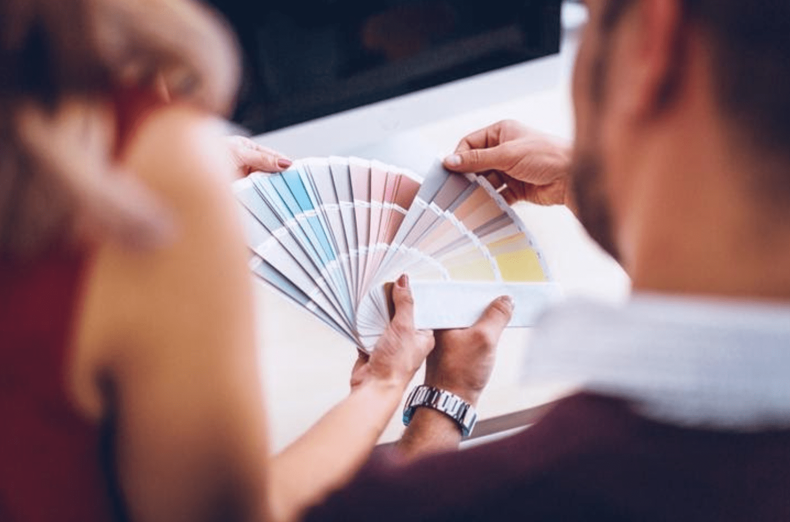 Have a colour plan complete before your renovation begins